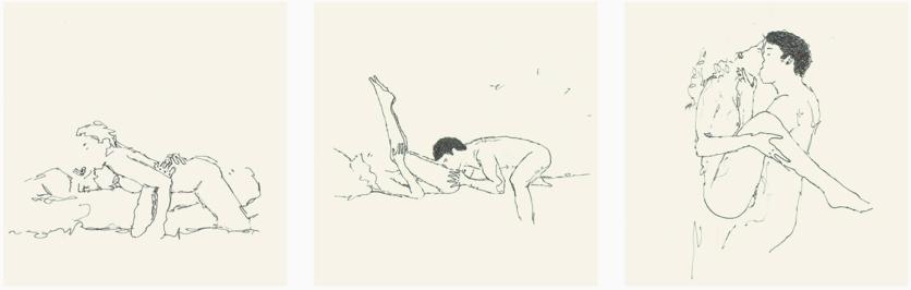 21 dibujos eróticos de todas las fantasías sexuales de una pareja 6