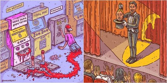 ilustraciones de tommy washbush 2