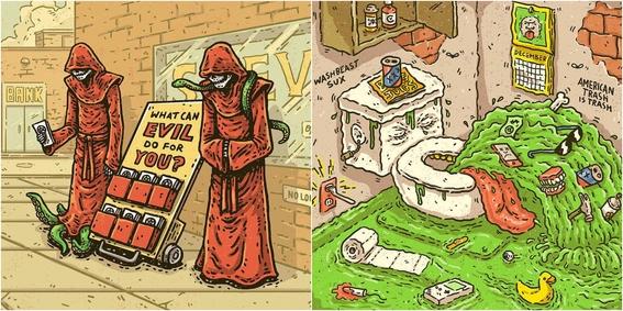 ilustraciones de tommy washbush 6