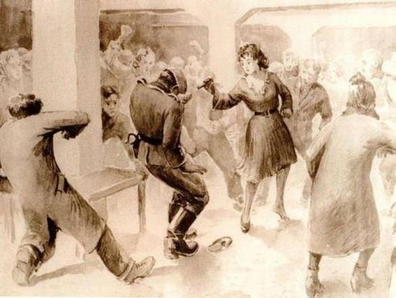 franceska mann auschwitz riot 4