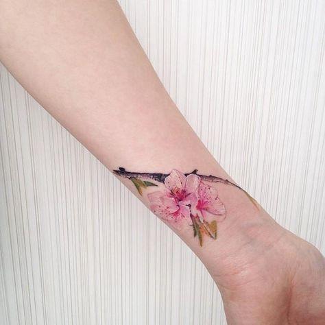 tatuajes de flores 3