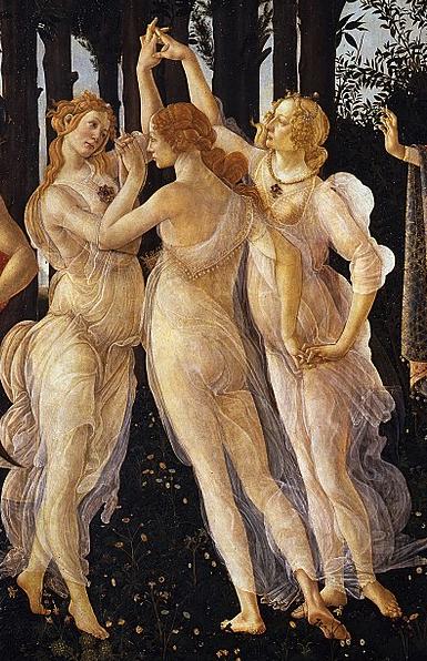 la primavera de botticelli 6