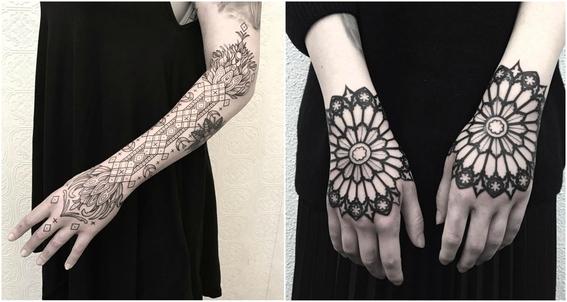 ornamental tattoos 6