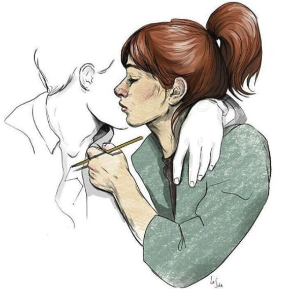 illustraciones de sanda cumplido 8