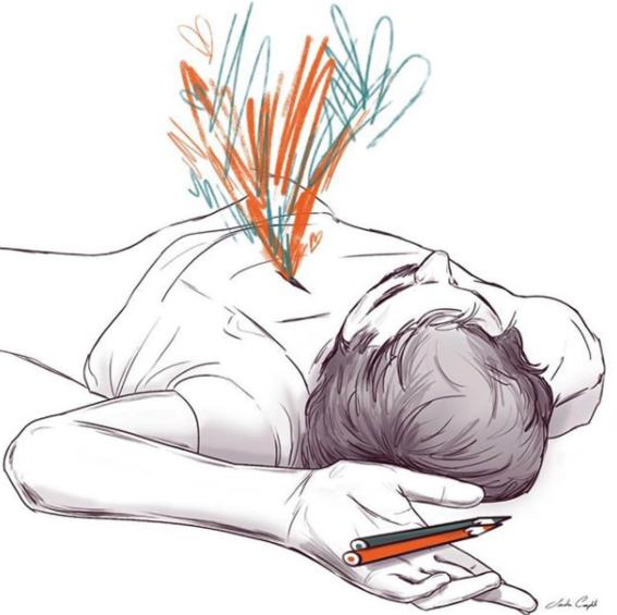 illustraciones de sanda cumplido 13