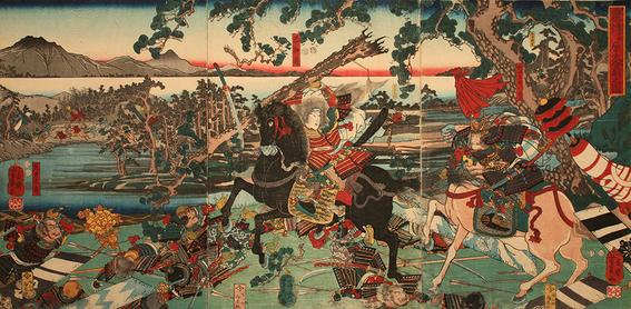 tomoe gozen female samurai 1