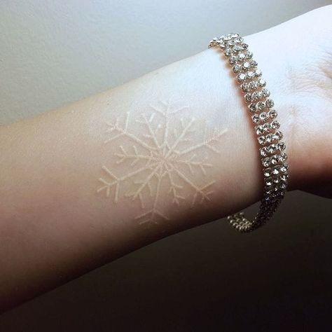 tatuajes de tinta blanca 10