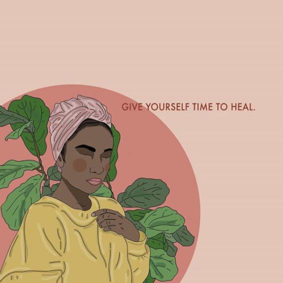 ilustraciones de recipes for self love 2