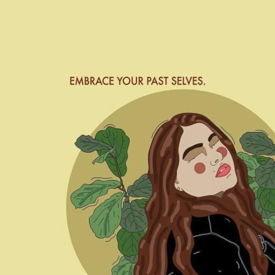 ilustraciones de recipes for self love 16