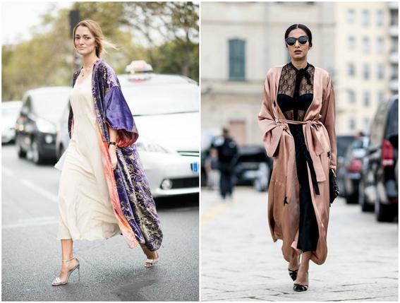 pajamas outfits as street style 5