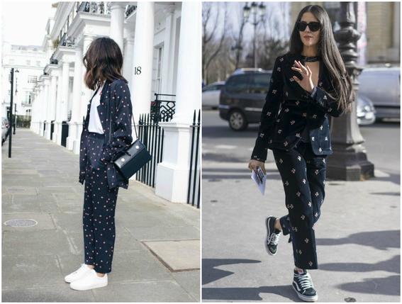 pajamas outfits as street style 6