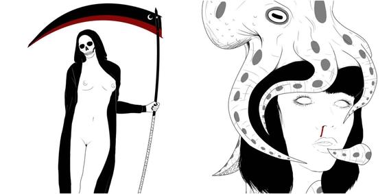 ilustraciones de negrox 6