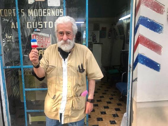 don manuel el ultimo barbero tradicional de la colonia roma 1