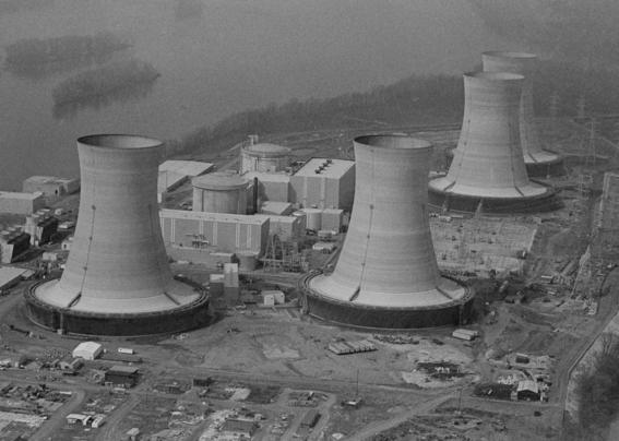 fotografias de bomba nuclear en three mile island 2
