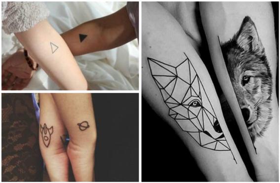 tatuajes para parejas que se complementan 2