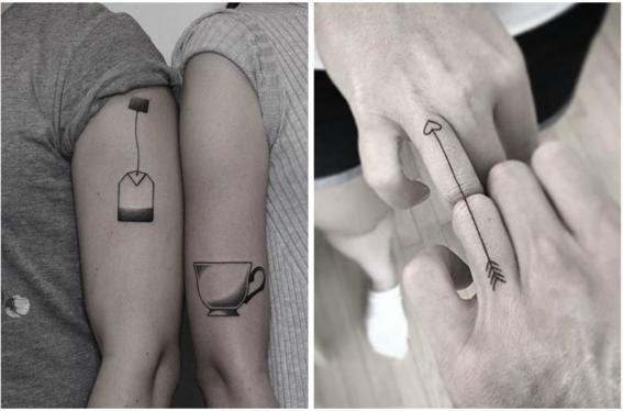 tatuajes para parejas que se complementan 6