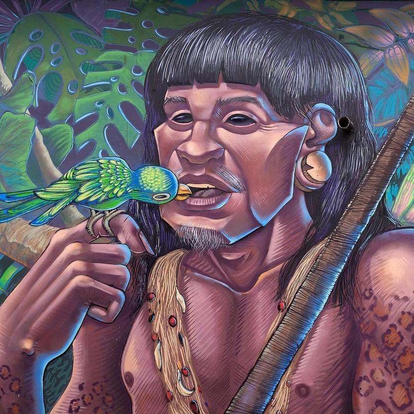 Los murales urbanos de Apitatán que nos muestran nuestros verdaderos orígenes 0
