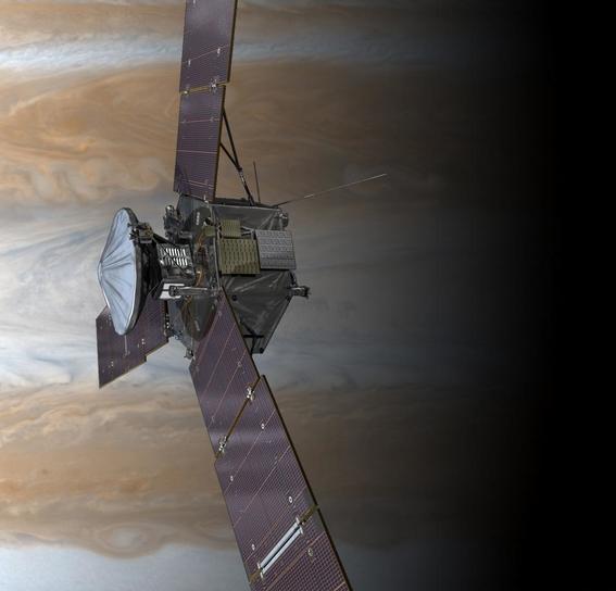 sonda juno captura nebulosas impresionistas en jupiter 5