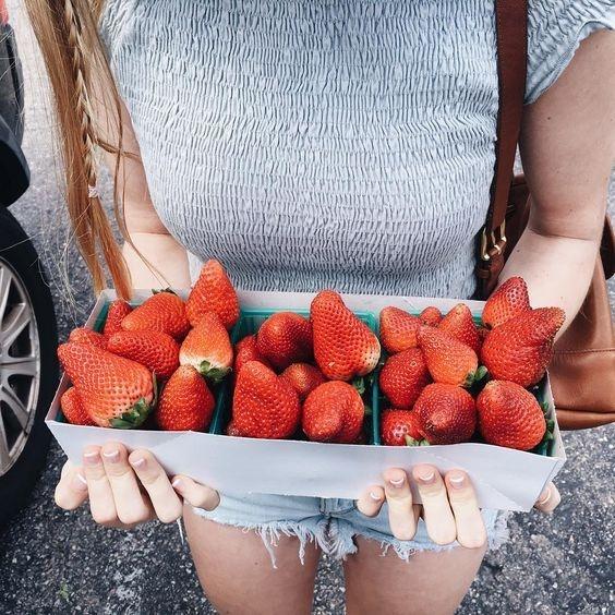 10 sencillas recetas para postres con fresas 5