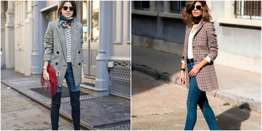 6 formas de usar sacos y blazers oversize sin verte ancha 4