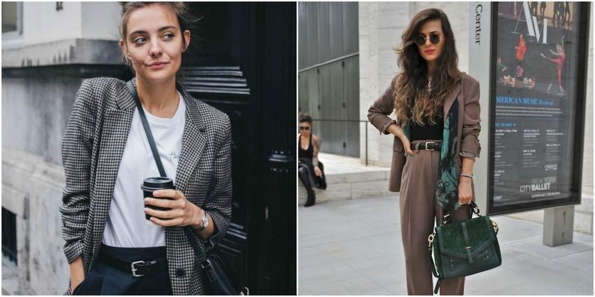 6 formas de usar sacos y blazers oversize sin verte ancha 5