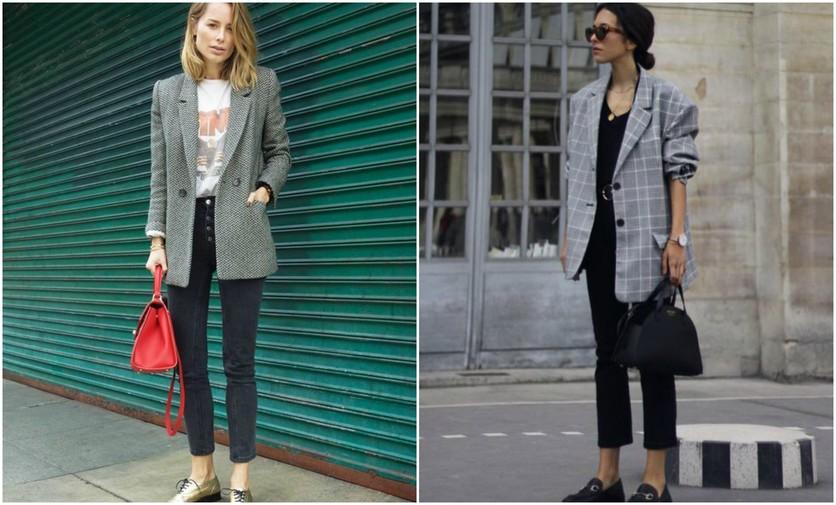 6 formas de usar sacos y blazers oversize sin verte ancha 6