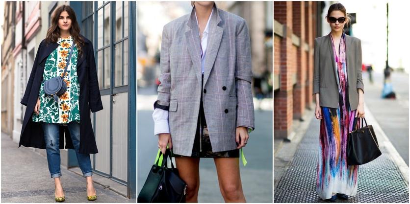 6 formas de usar sacos y blazers oversize sin verte ancha 1