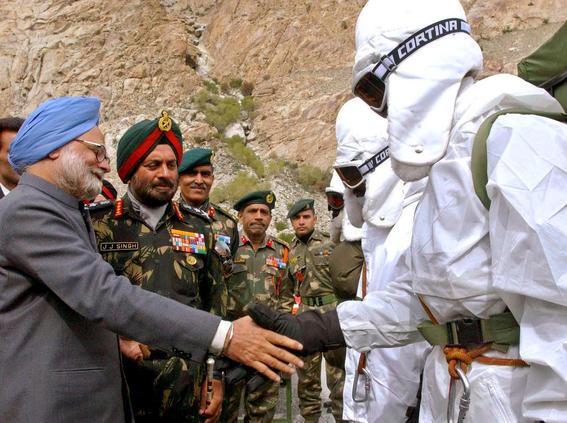 la guerra en el glaciar de siachen entre la india y pakistan 3