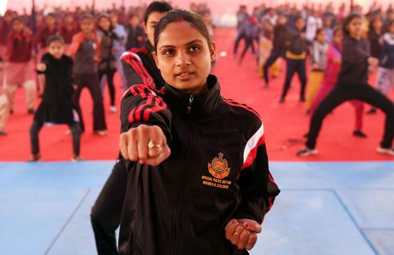 cursos de artes marciales para mujeres en india 1