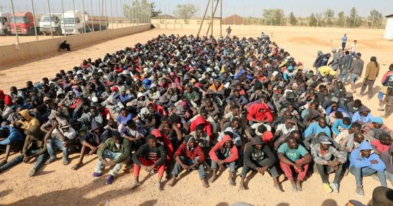 torturas a migrantes africanos esclavizados en libia 1