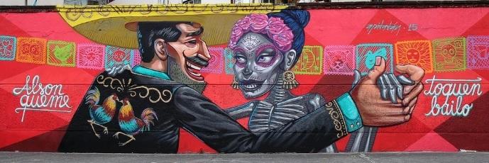 Los murales urbanos de Apitatán que nos muestran nuestros verdaderos orígenes 2