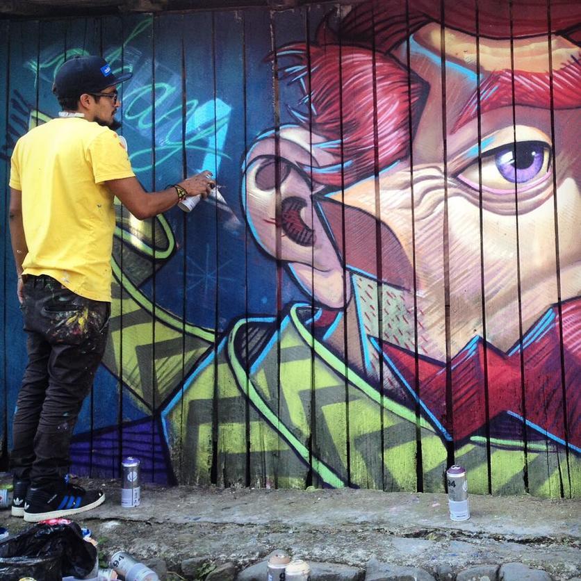 Los murales urbanos de Apitatán que nos muestran nuestros verdaderos orígenes 3