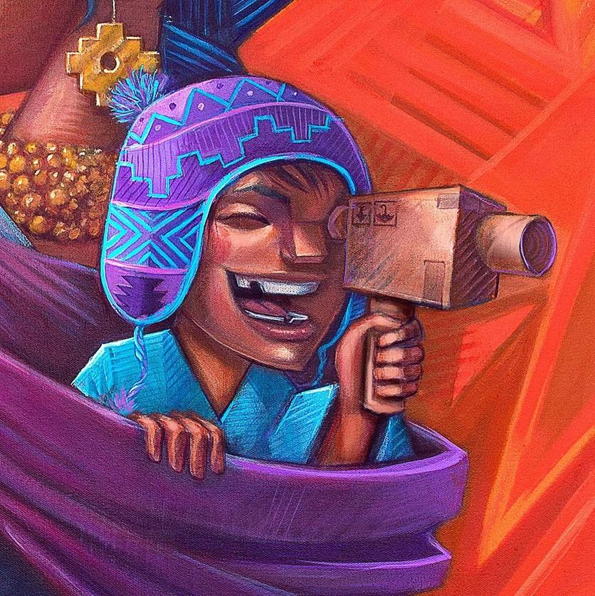 Los murales urbanos de Apitatán que nos muestran nuestros verdaderos orígenes 4