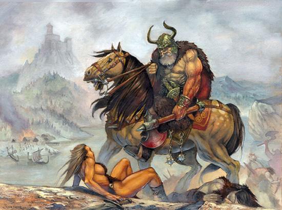 cascos vikingos 2