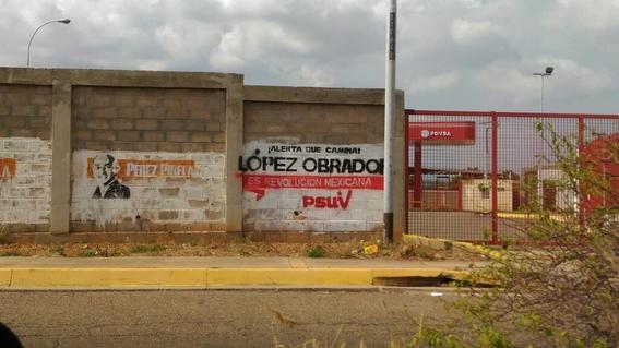 pintas de amlo en venezuela 1