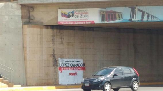 pintas de amlo en venezuela 2