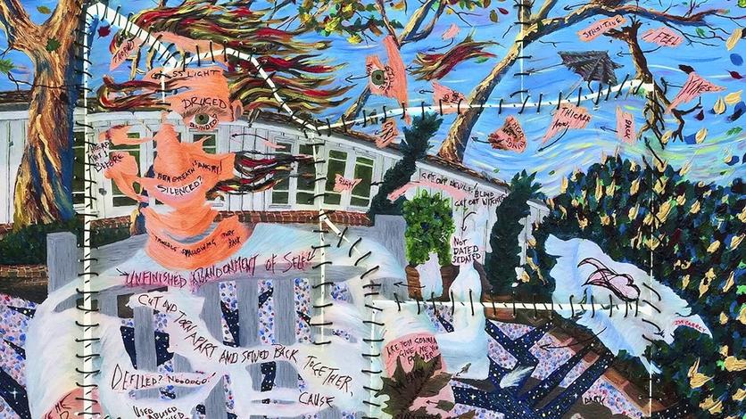 El psicodélico y retorcido arte de Jim Carrey que te hará alucinar 1