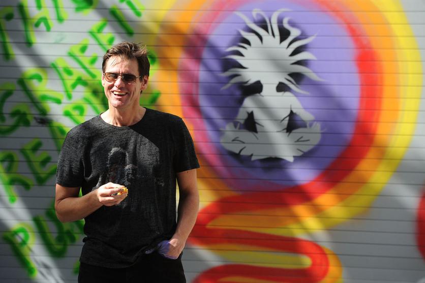 El psicodélico y retorcido arte de Jim Carrey que te hará alucinar 2