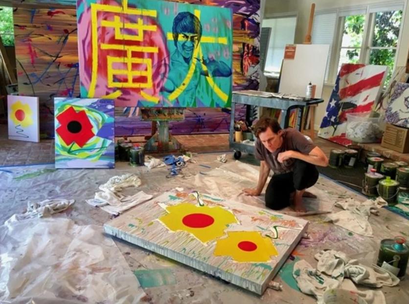 El psicodélico y retorcido arte de Jim Carrey que te hará alucinar 4