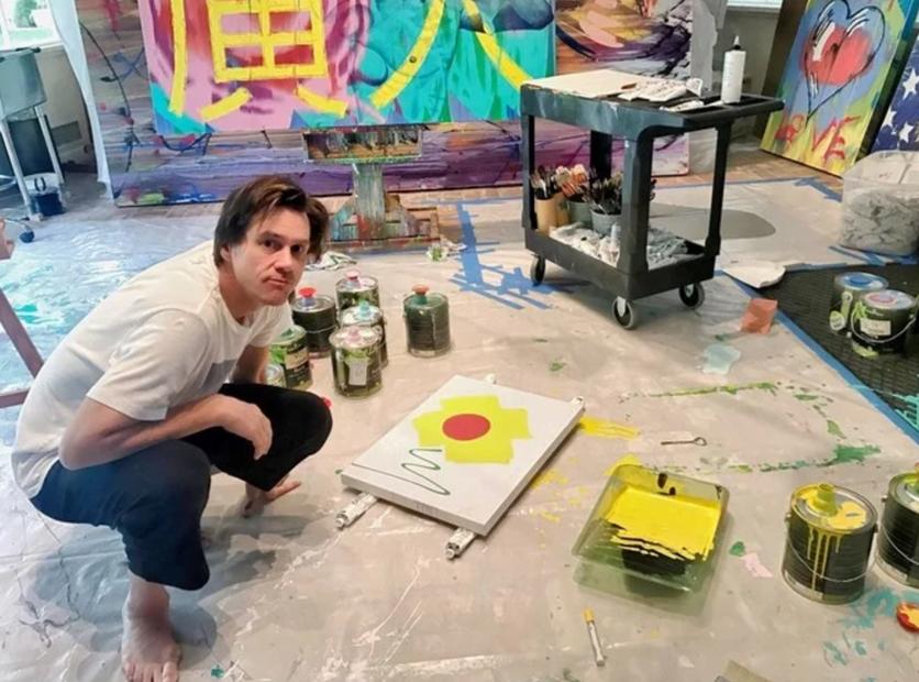 El psicodélico y retorcido arte de Jim Carrey que te hará alucinar 5
