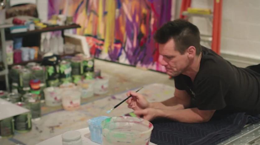 El psicodélico y retorcido arte de Jim Carrey que te hará alucinar 7
