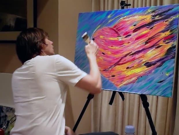 El psicodélico y retorcido arte de Jim Carrey que te hará alucinar 6