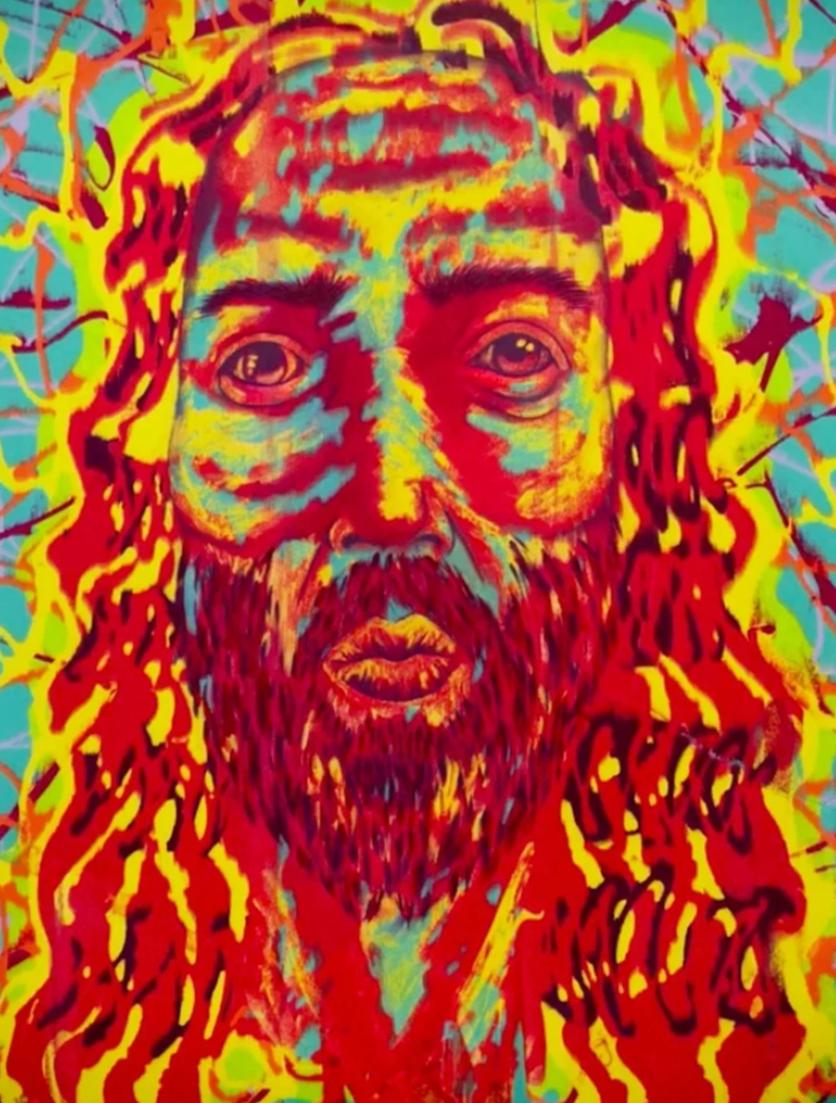El psicodélico y retorcido arte de Jim Carrey que te hará alucinar 8