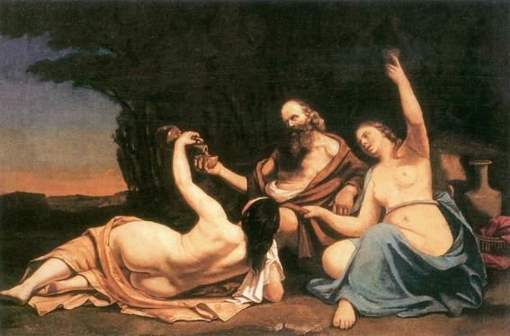 pinturas sobre violacion e incesto las hijas de lot 6