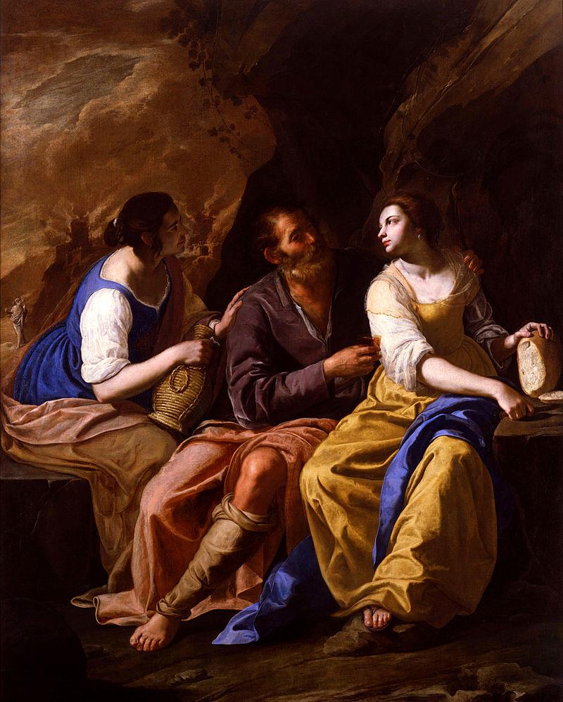 7 pinturas sobre violación e incesto bíblico 0