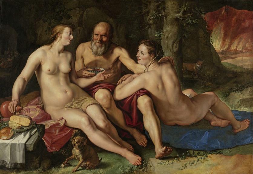 7 pinturas sobre violación e incesto bíblico 2