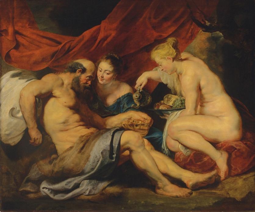 7 pinturas sobre violación e incesto bíblico 6