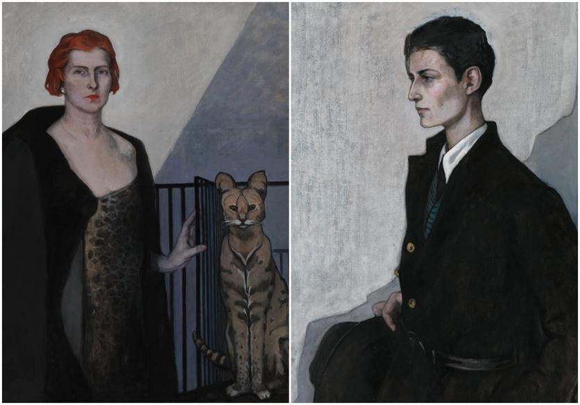 La artista que pintó a sus amantes para defender su orientación sexual 7