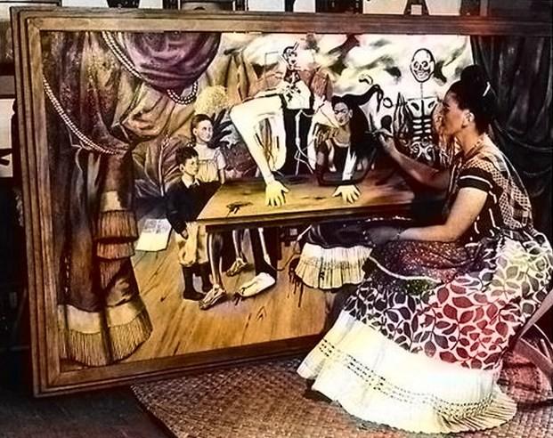 El misterio de la obra perdida de Frida Kahlo 2