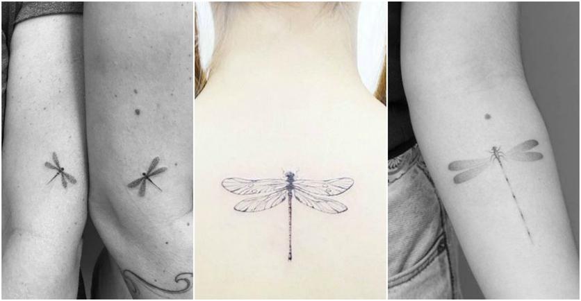 27 tatuajes de libélulas y su poderoso significado 3